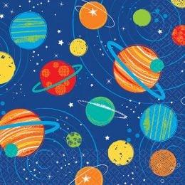 Χαρτοπετσέτες μικρές Διάστημα (16 τεμ)