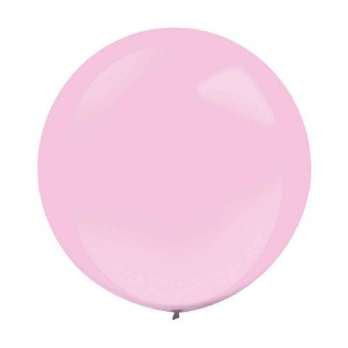 "60cm – 24"" Ροζ μεγάλο μπαλόνι"