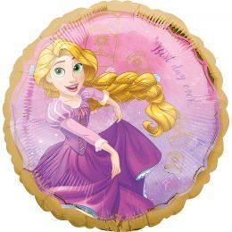 Μπαλόνι Πριγκίπισσα Ραπουνζέλ στρογγυλό45εκ