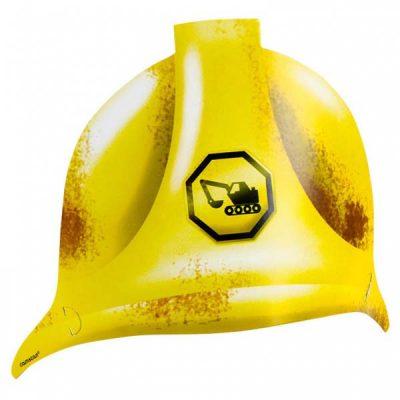 Κράνος πάρτυ Under Construction (8 τμχ)