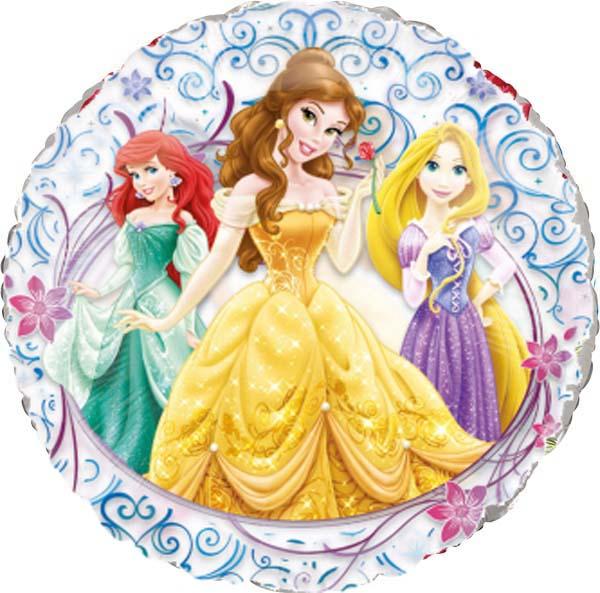 Μπαλόνι Πριγκίπισσες see- through 66 εκ