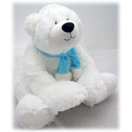 Λούτρινο αρκουδάκι λευκό