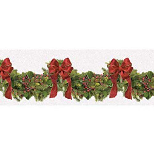 Αυτοκόλλητο τοίχου χριστουγεννιάτικη διακοσμητική γιρλάντα