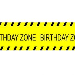 "Μπάνερ Under Construction ""Birthday Zone"""