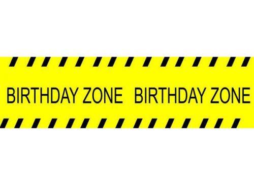 """Μπάνερ Under Construction """"Birthday Zone"""""""