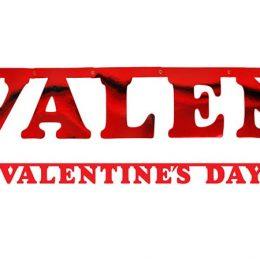 """Διακοσμητικό μπάνερ """"Valentine's Day"""""""