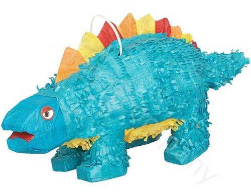 Πινιάτα για πάρτυ Στεγόσαυρος μπλε