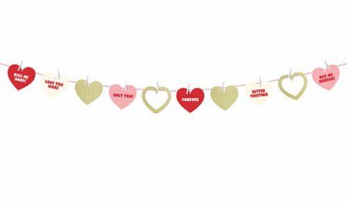 """Διακοσμητική Γιρλάντα """"Sweet Love"""" 1.1 μ."""