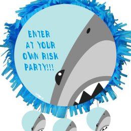 Χειροποίητη Πινιάτα πάρτυ Shark Attack