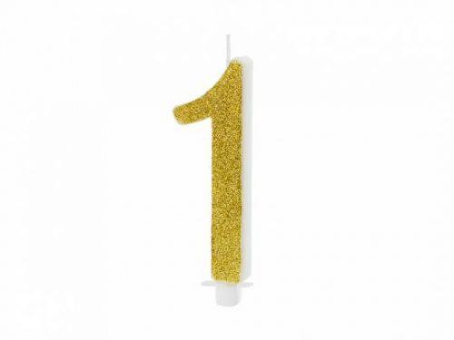Χρυσό κεράκι αριθμός 1