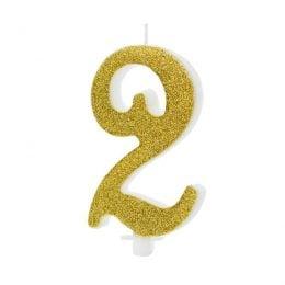 Χρυσό κεράκι αριθμός 2