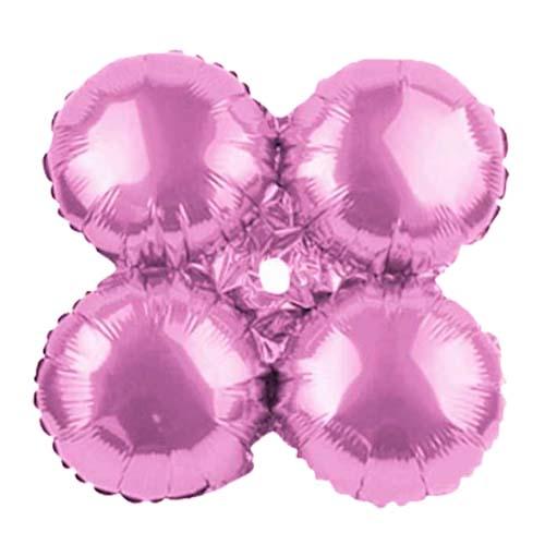 Μπαλόνι ανοιχτό ροζ 4πλο για γιρλάντα 40 εκ