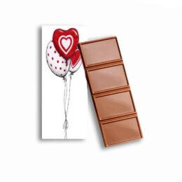 """Σοκολατίτσα Αγάπης """"Love Balloons"""" 35g"""