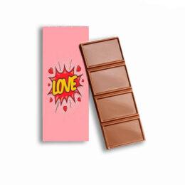 """Σοκολατίτσα Αγάπης """"Love Pow"""" 35g"""