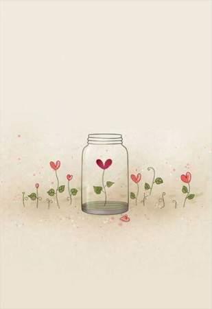Κάρτα Αγάπης Μαγεμένα λουλούδια
