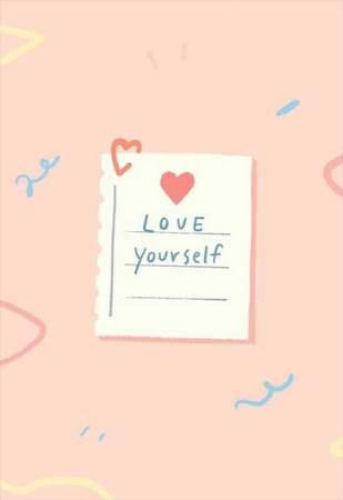 Κάρτα Αγάπης Love Yourself