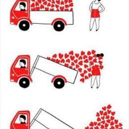 Κάρτα Αγάπης Φορτηγό αγάπης