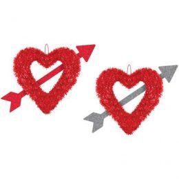Διακοσμητικά Καρδιά με βέλος που κρέμονται