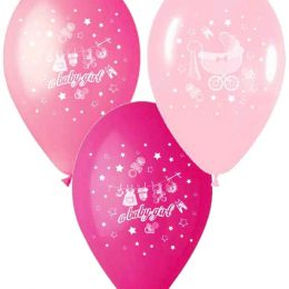 12″ Μπαλόνι Α baby gilr καρότσι
