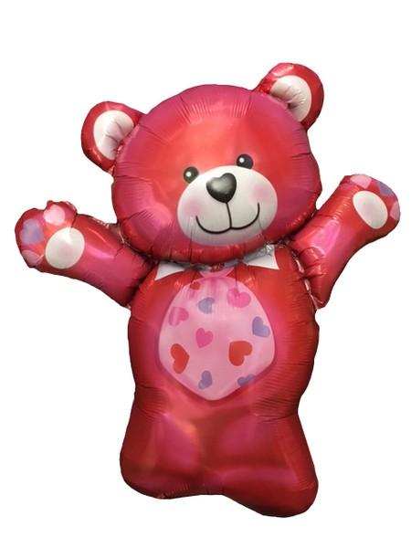 Μπαλόνι αγάπης κόκκινο Αρκουδάκι 85 εκ.