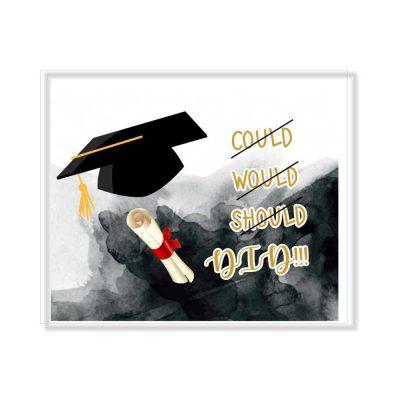 Χειροποίητο βιβλίο ευχών Αποφοίτησης