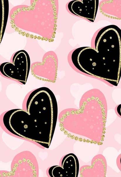 Κάρτα Αγάπης Καρδιές
