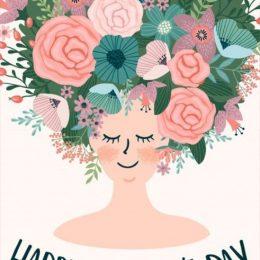 """Κάρτα """"Happy Women's Day"""""""