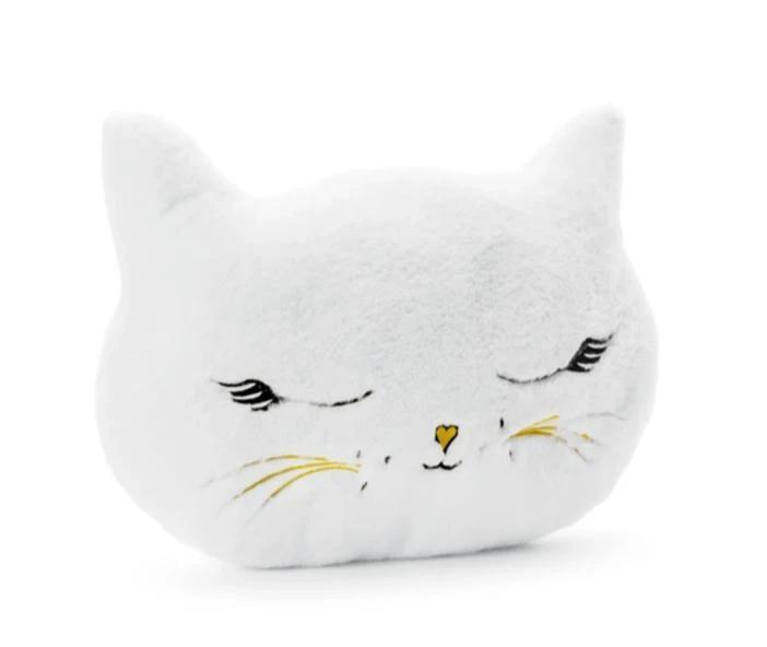 Λούτρινο μαξιλάρι γατούλα