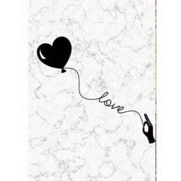 """Σοκολάτα Αγάπης """"Καρδιά μπαλόνι"""" 100 gr"""
