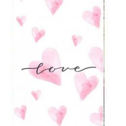 """Σοκολάτα Αγάπης """"Ροζ καρδιές"""" 100 gr"""