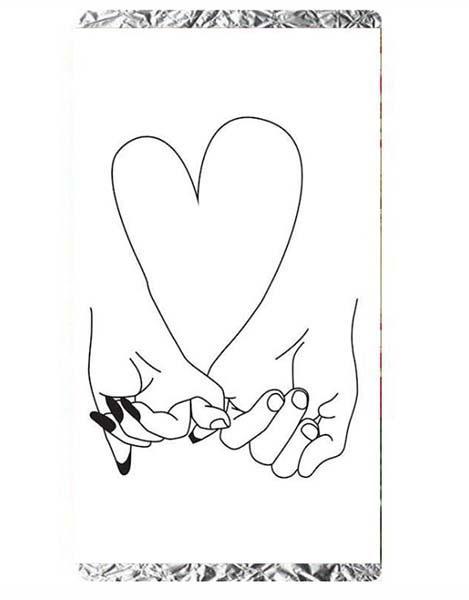Σοκολάτα Αγάπης χέρια ερωτευμένων