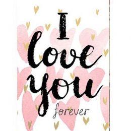 """Σοκολάτα Αγάπης """"Forever"""" 100gr"""