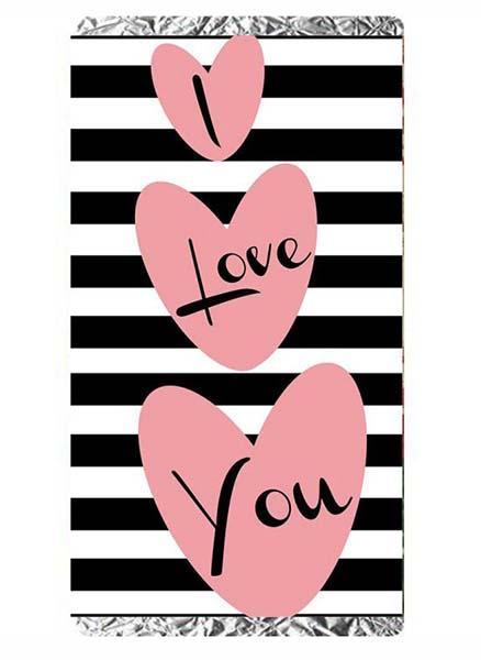 Μεγάλη Σοκολάτα Αγάπης 100 gr I love you