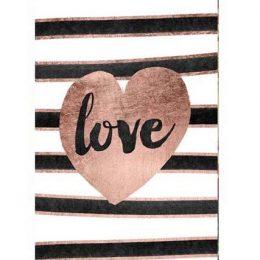 """Σοκολάτα Αγάπης """"Love ριγέ"""" 100 gr"""