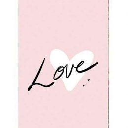 """Σοκολάτα Αγάπης """"Love ροζ"""" 100 gr"""