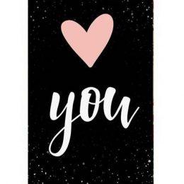 """Σοκολάτα Αγάπης """"Love YOU"""" 100 gr"""