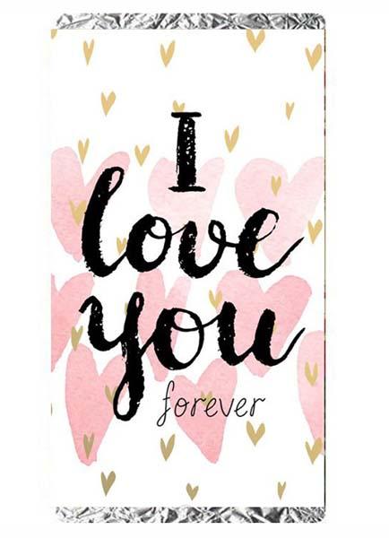 """Σοκολάτα Αγάπης """"I love you forever"""""""