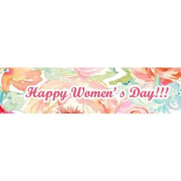 Γίγας σοκολάτα Pastel Watecolor Woman's Day