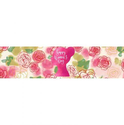 Γίγας σοκολάτα Flower Woman's Day