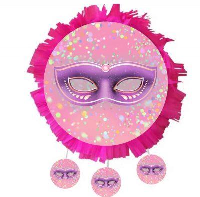 Χειροποίητη Πινιάτα Αποκριάτικη Μάσκα