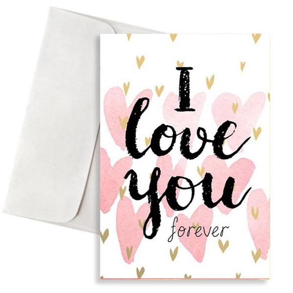 κάρτα αγάπης i love you forever
