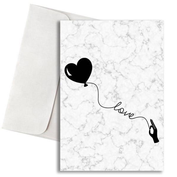κάρτα αγάπης love μάρμαρο