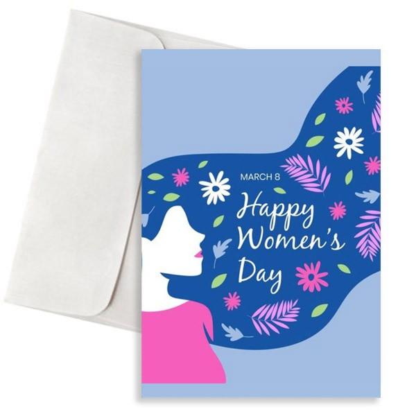 κάρτα happy womans day 08-03