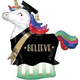 Μπαλόνι αποφοίτησης Μονόκερος 83 εκ
