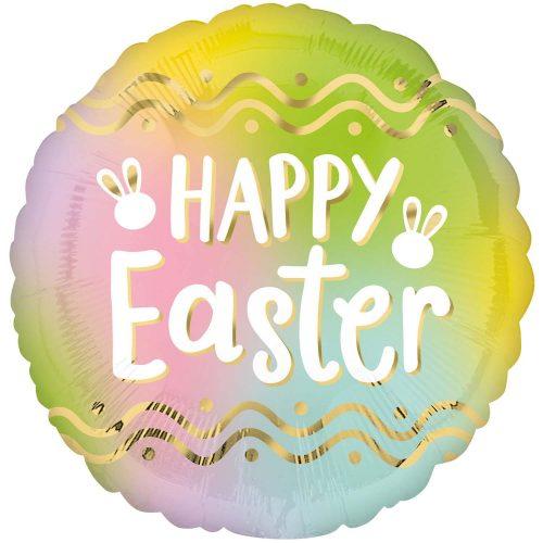 """Μπαλόνι """"Happy Easter"""" όμπρε 46 εκ"""