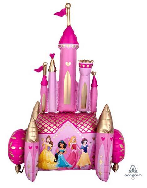 Τεράστιο μπαλόνι Airwalker Κάστρο πριγκίπισσες 139 εκ