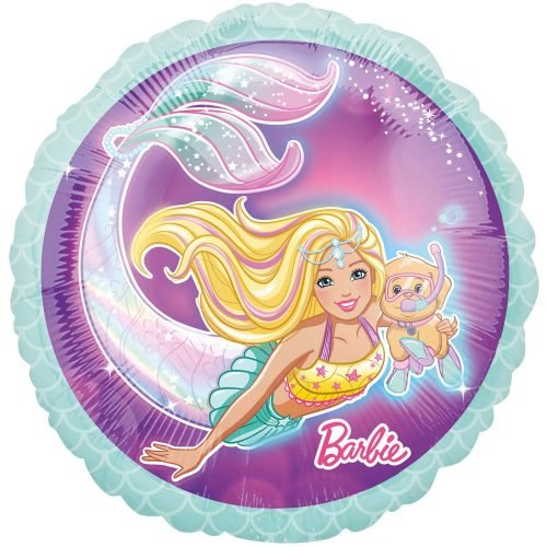 Μπαλόνι Barbie Γοργόνα 45 εκ