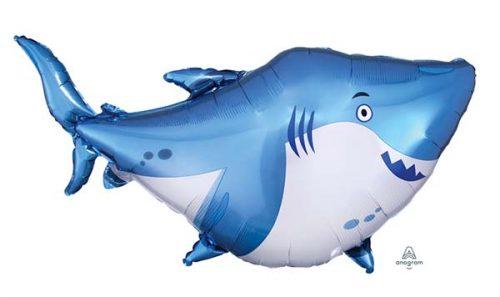 Μπαλόνι μπλε καρχαρίας 101 εκ.