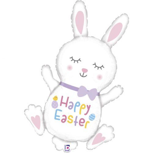 """Μπαλόνι Λαγουδάκι """"Happy Easter"""""""