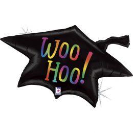 Μπαλόνι καπέλο αποφοίτησης Woo Hoo! 84 εκ
